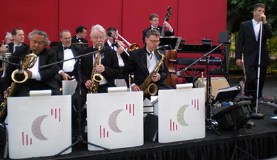Silver Moon Big Band for Fathers Day